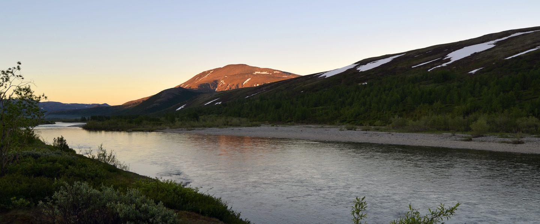 Река Собь. Полярный Урал.