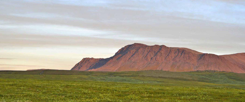 Гора Динозавр. Полярный Урал.