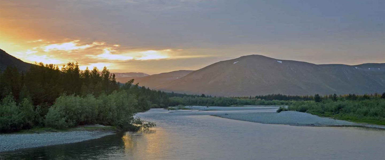 река Собь, Полярный Урал