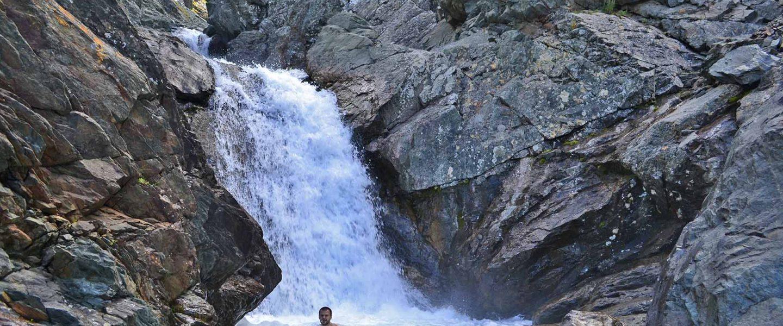 Нефритовый водопад на ручье Нырдвомэншор