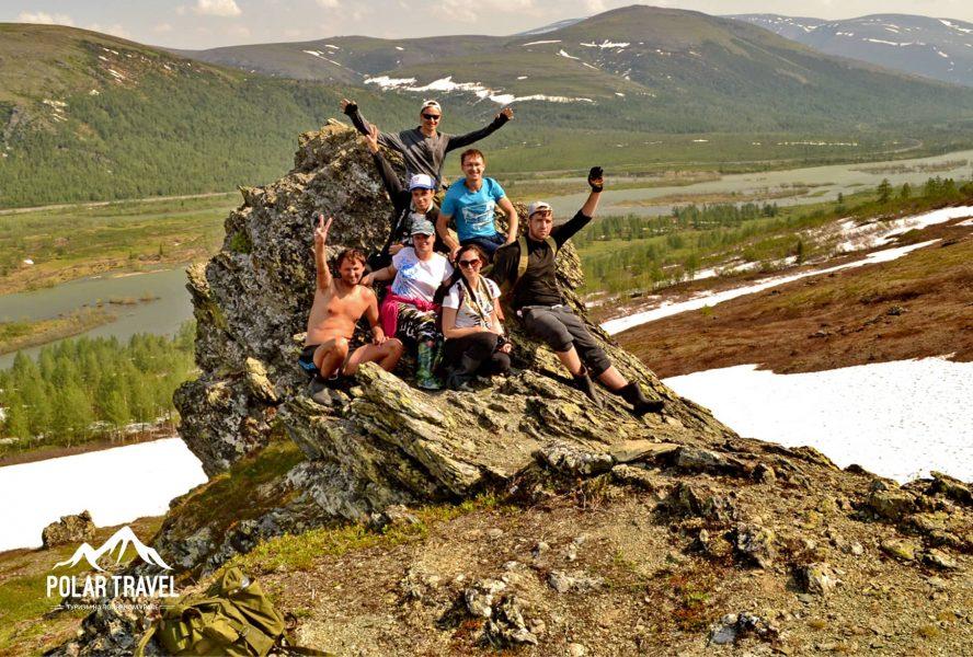 Склон горы Поуркеу, Полярный Урал