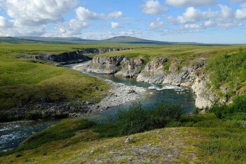река Нияю, Полярный Урал, Polar Travel