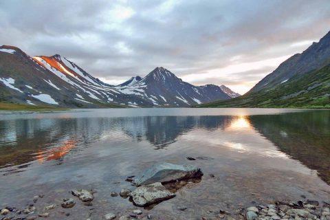 Озеро Хадата, Полярный Урал