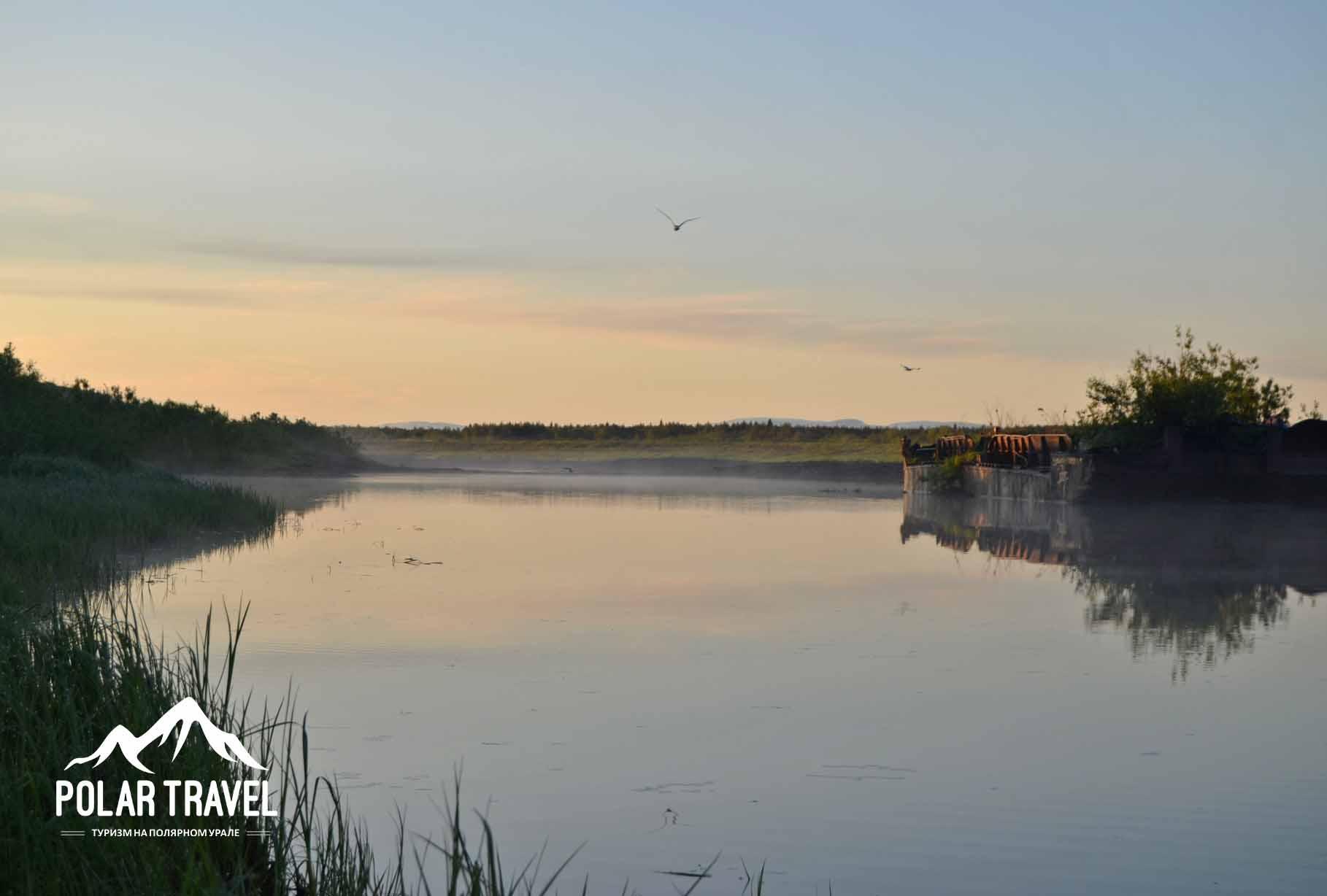 Река Уса, Воркутинский район.